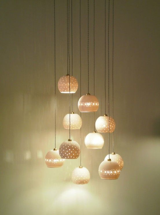 ceramic lights by lightfixture tamar @ Home Renovation Ideas