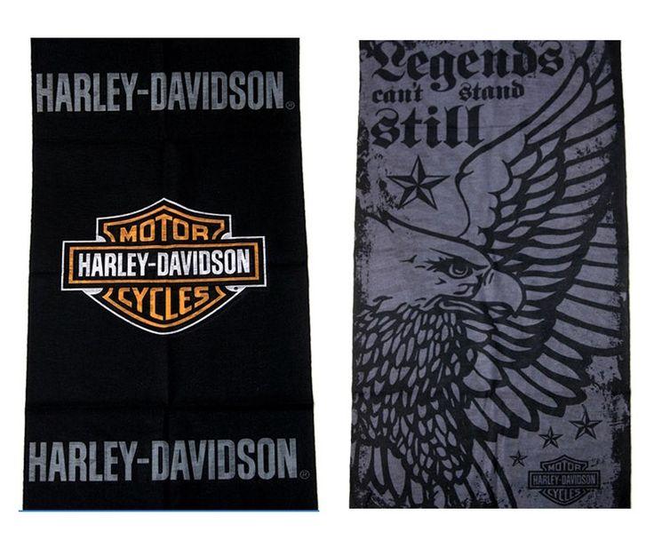 Harley Davidson Multi Scarf Bandana Neck Warmer Snood Head wear Face Mask Headband Cap Wamer