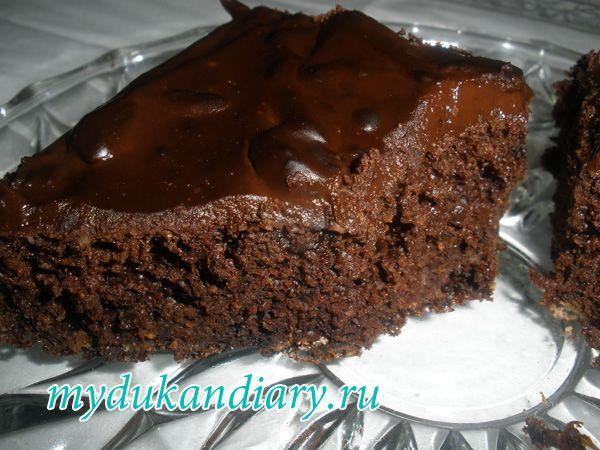 Шоколадный пирог на кока-коле | Диета Дюкан или как похудеть легко