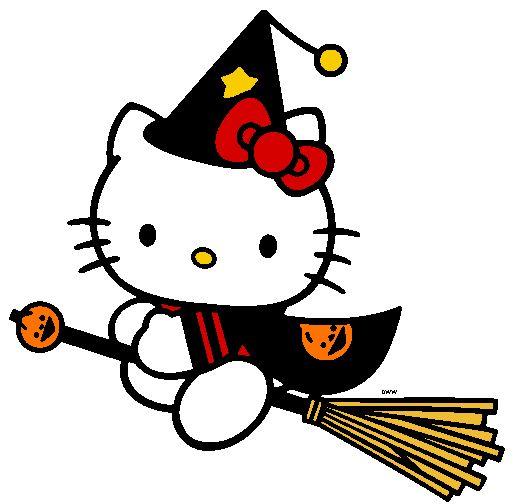 Hello Kitty Halloween - Witch soooooo cute