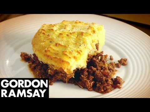 Gordon's take on a real British classic. The secret to this dish? It's all in flavouring the mince.    #shepherdspie