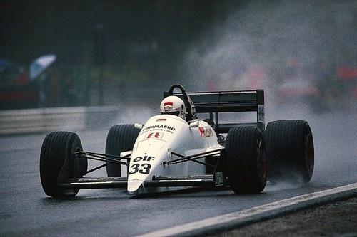 Stefano Modena Eurobrun - Ford Spa 1988