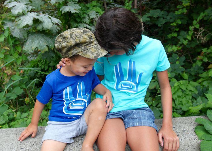 Live Long and Potlatch T-shirts by Tlingit artist Alison Bremner.