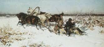 Risultati immagini per Alfred Wierusz-Kowalski (Polish , 1849 - 1915)