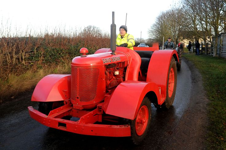 Image detail for -strange David Brown tractor takes part in the annual vintage tractor ...