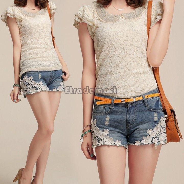 Женские джинсовые шорты женские джинсы шорты горячая распродажа женская короткие брюки для женщин девушки Большой размер sml XL XXL 34