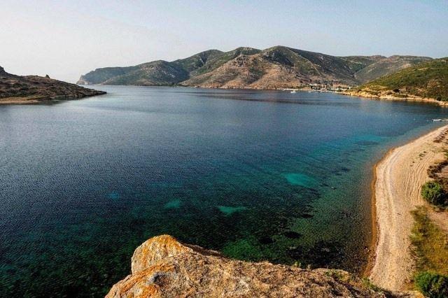 #Grikos bay. No filter needed.  #patmosaktis #patmos #destination #easteriscoming  www.patmosaktis.gr