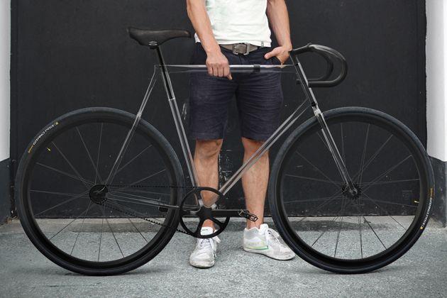 Polymer Frame Claritity Bike