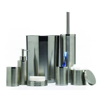 Shop for Two-tone Stainless Steel Bath Accessories Set. Get free delivery at Overstock.com - Your Online Bath