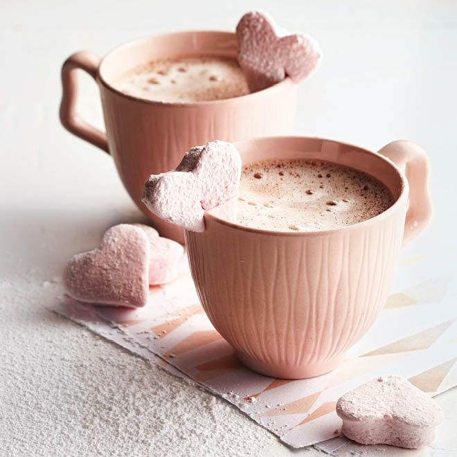 Valentine Heart Marshmallows