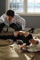 Agent Hotchner (Thomas Gibson) battles the Reaper (C. Thomas Howell) on Criminal...