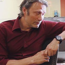 Mads Mikkelsen (I can't get enough of his head tilts.)