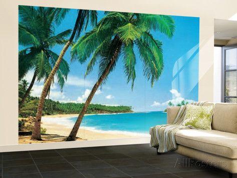 Ile Tropicale Tropical Isle Huge Wall Mural Art Print Poster Wallpaper Mural at AllPosters.com