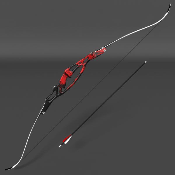 Olympic Recurve Bow 3D Model - 3D Model