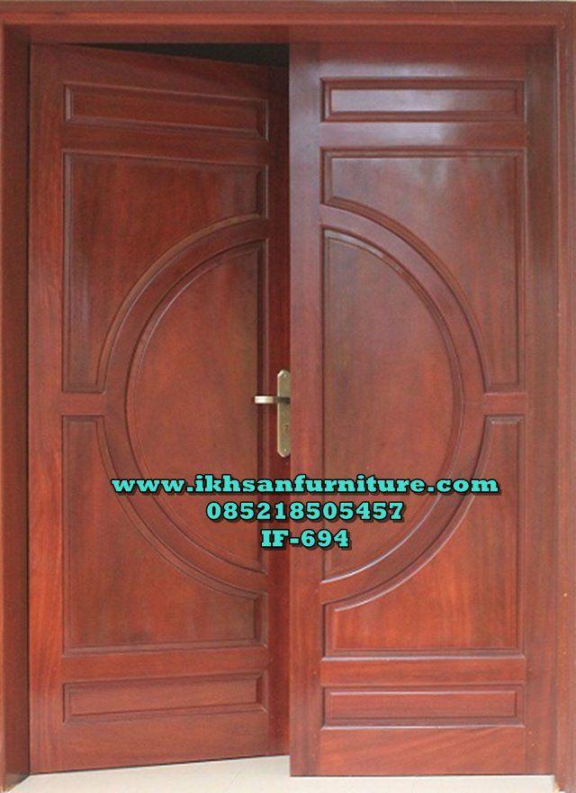 Pintu Utama Rumah Minimalis Kupu Tarung