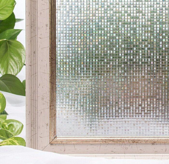 貼るだけでモザイクガラスステンドグラスモザイク擦りガラス磨りガラス