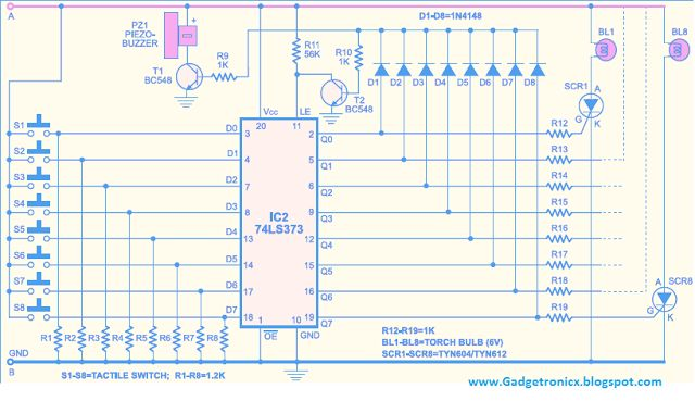 Circuit Diagram Quiz Board