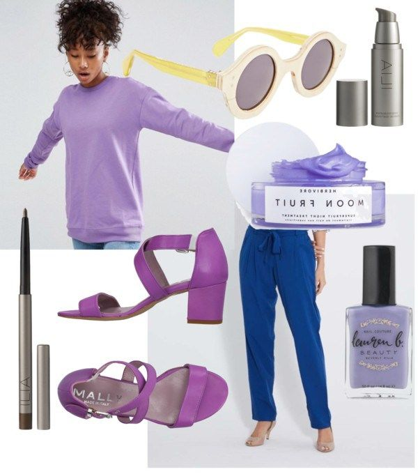 Purple can be hard to match with other colors. Learn how to wear the color with these sustainable outfit choices.