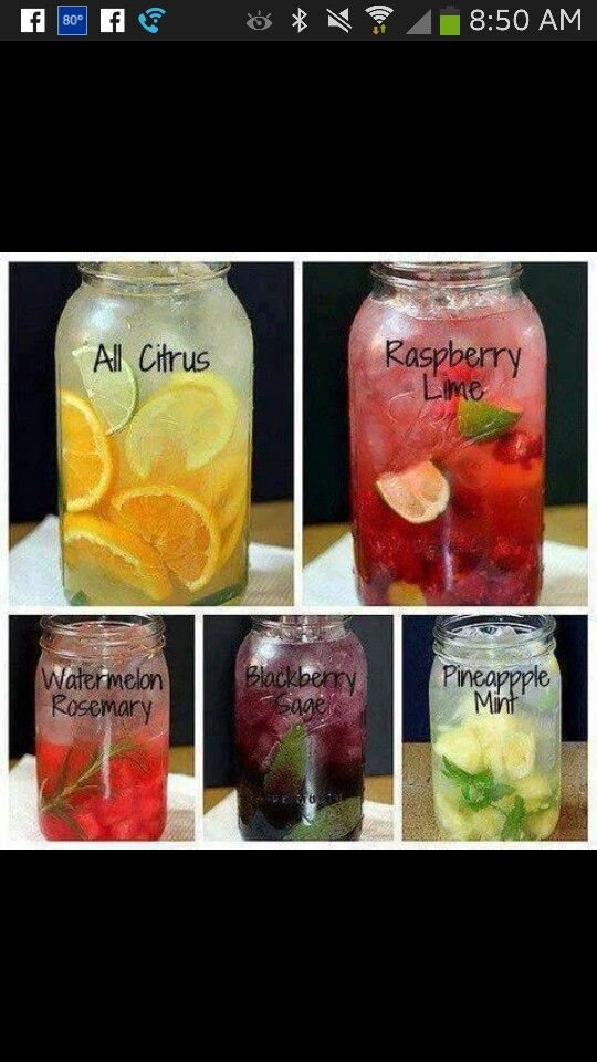 Infusedwaterrecipies.com Wonderful Web site for a wide variety of infused water,  giving easy how - to instructions!
