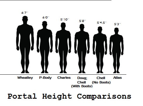 how to write a persons height