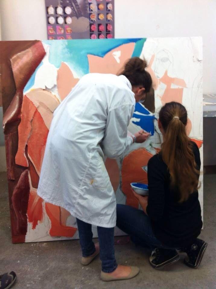 Laboratorio artistico post scolastico liceo artistico Stagi Pietrasanta 2013-14
