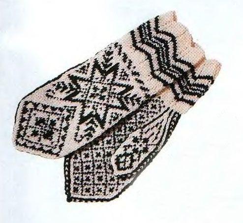 pletací tradice, historie nebo známých vzorovaných palčáky