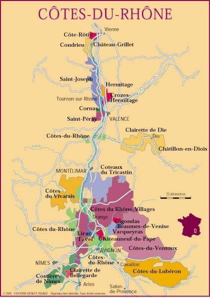 Côtes-du-Rhône!