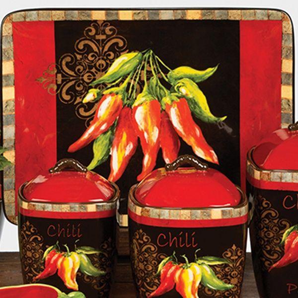 Beautiful Chili Pepper Decor | Chili Pepper By Tre Sorelle Studios U0026 Certified  International .