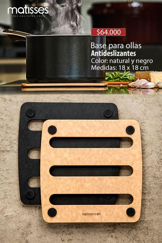 Compra aquí bases para ollas en madera, un perfecto complemento para tu cocina. #MatissesComplementos