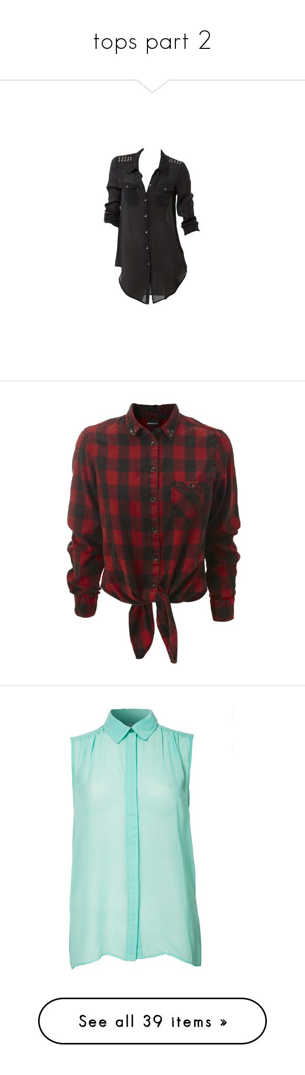 """""""tops part 2"""" by zoesears on Polyvore featuring tops, blouses, shirts, blusas, military top, military shirt, shirt top, bettina liano, shirt blouse and long sleeves"""