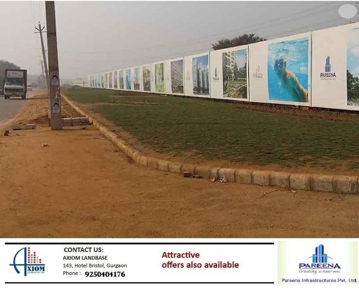 Offers 2 BHK, 3 BHK and 4 BHK luxury apartments with the option of VRV. The campus is spread over a 10.5 acre land with 70% green area, assuring a healthy living to its residents. www.axiomlandbase.in Call Now = 9250404176