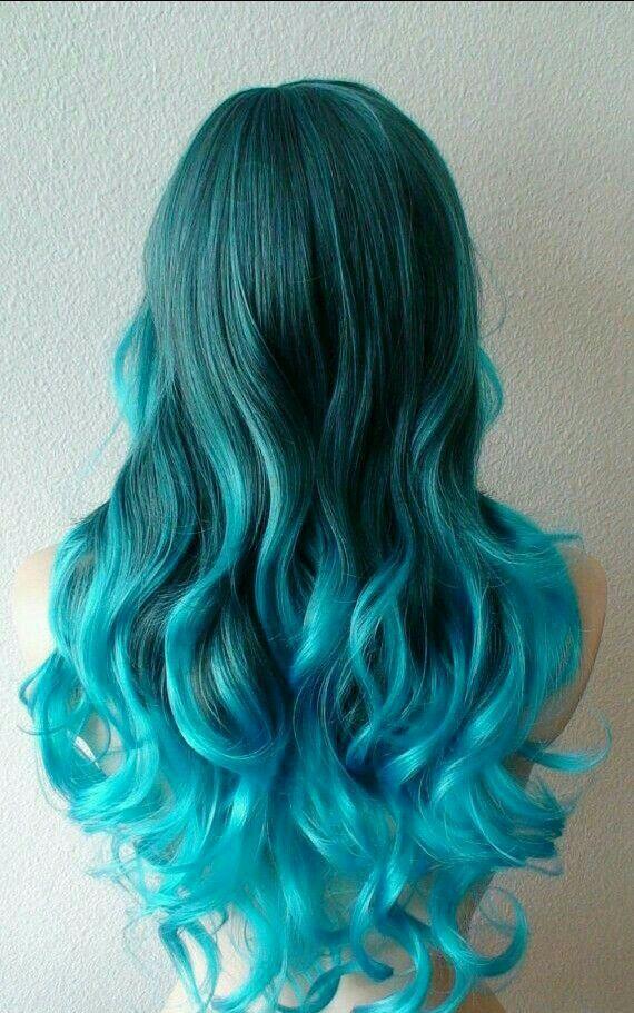 I love colorful hair  ❤️