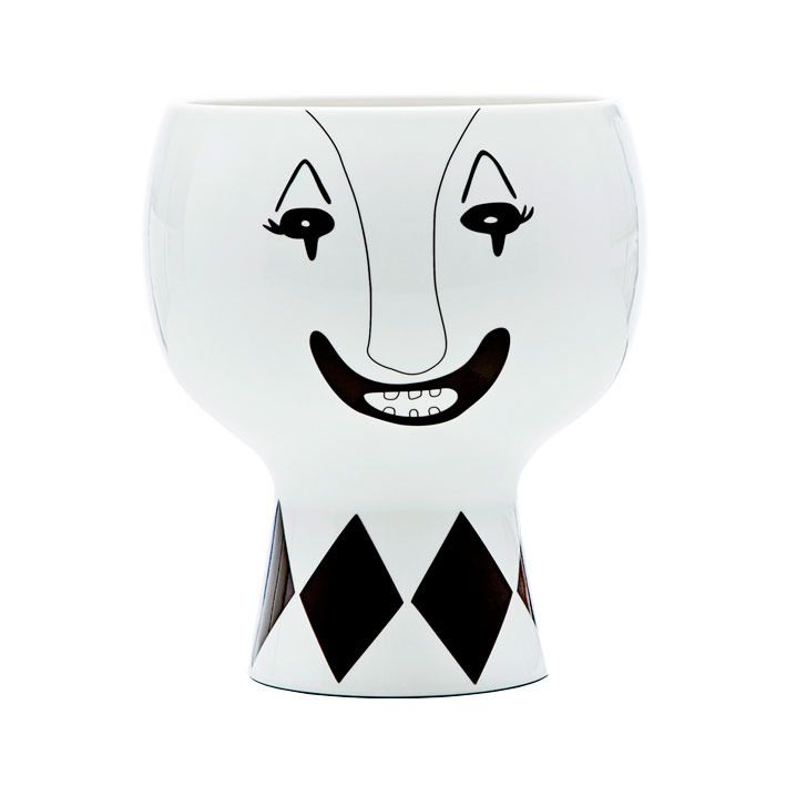 Mr. Clown is a big Flower Me Happy Pot. He is perfect for sculptural houseplants. Circus is his life, but sometimes he dreams of something else. He...