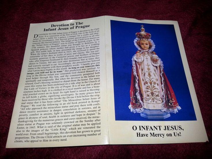 Infant of Prague Novena Prayers