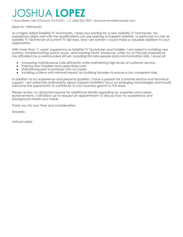 Cover letter for restaurant manager trainee looking for a