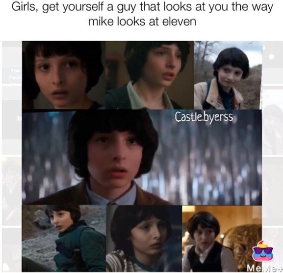 """383 Likes, 9 Comments - Stranger Things 4.5k♀️ (@castle.byerss) on Instagram: """"Sorry the pics are a bit blurry but I wish that mike wheeler existed so bad .…"""""""