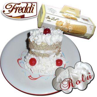 Swiss Roll farcito  http://www.incucinaconrolu.it/lista-news/16-dolci-e-dolcetti/171-swiss-roll-farcito