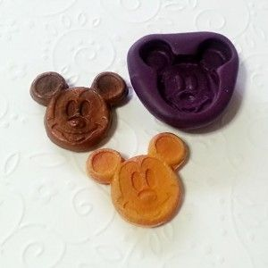 Silicone-Mold-Mickey-Mouse-Pancake-26mm-Candy-Chocolate-Resin-Clay-Dollhouse-301464486730