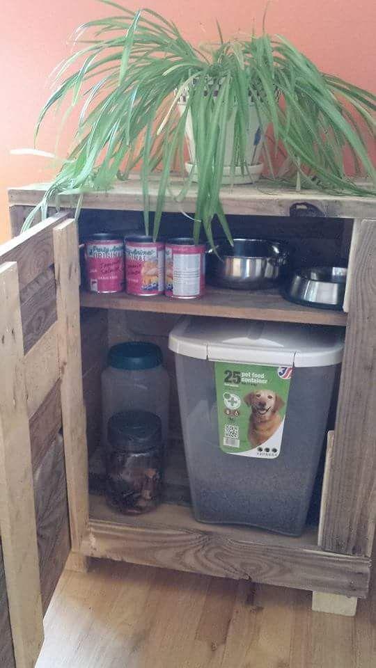 Dog Food Cabinet
