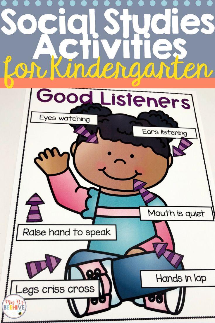 c3799fd5bb51f4397d076cf303a1692d - Kindergarten Social Studies Curriculum