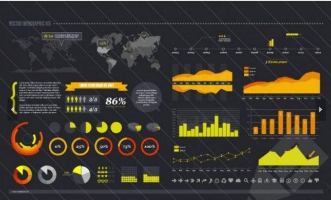 19 Useful Free Infographics Vector Templates – January 2016