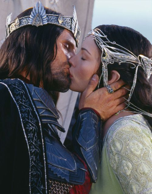 Lord of the Rings.The Lord, The Kisses, Viggo Mortensen, Middleearth, Aragorn And Arwen, Movie, Liv Tyler, Rings, Middle Earth