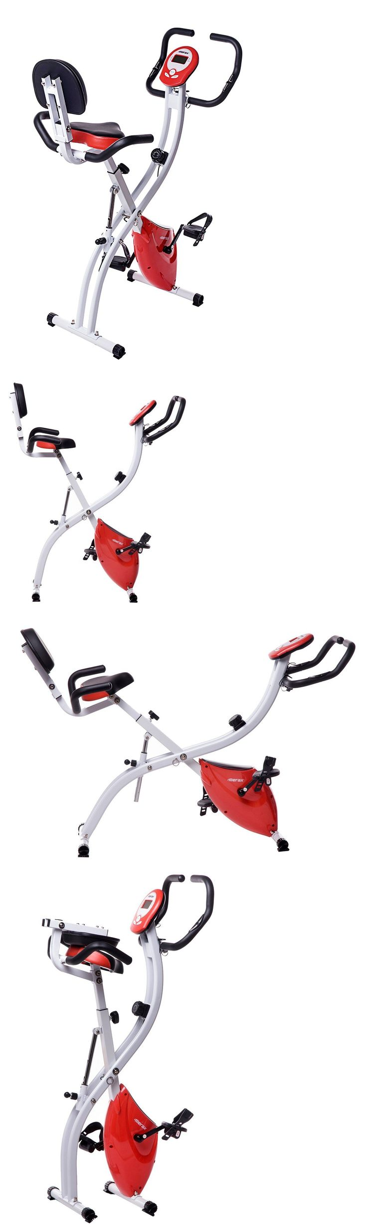 Exercise Bikes 58102: Folding Exercise Bicycle Cycling Magnetic Trainer Fitness Stationary Machine -> BUY IT NOW ONLY: $94.99 on eBay!