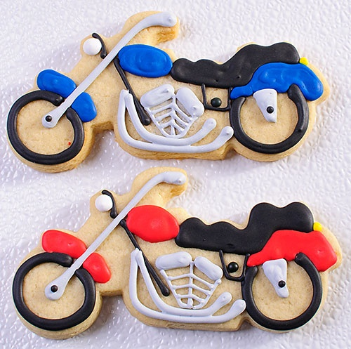 Image detail for -Motorcycle Cookie Favors | MonsterMarketplace.com