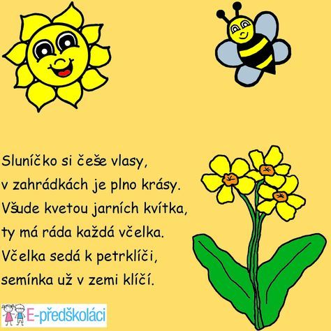 Jaro - básnička