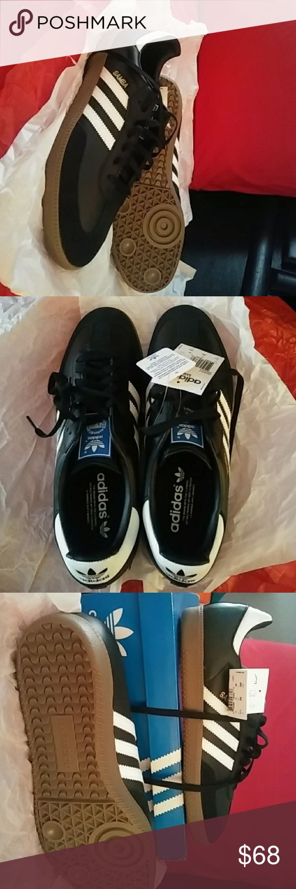 Adidas Samba Classic Men's ⚽ NWT never worn Adidas Samba Classic Men's Sneaker. Tags still attached. Kept in box. Perfect condition. US size 11.5 adidas Shoes Sneakers
