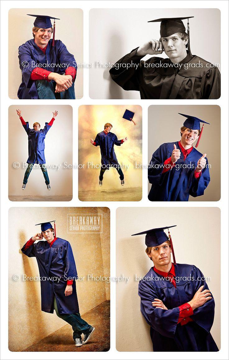 Breakaway} Cap & Gown | high school boys | senior portraits | orange county » breakaway-grads.com