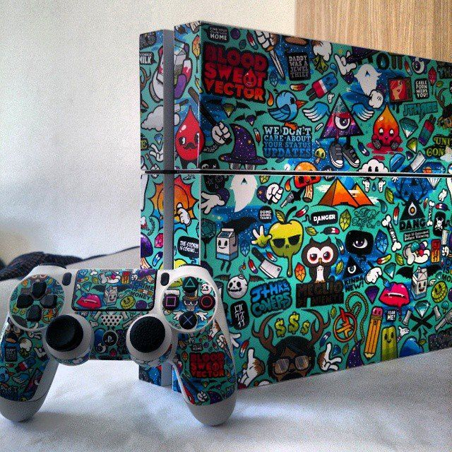 Jewel Thief PS4 Skin by JThree Concepts x DecalGirl