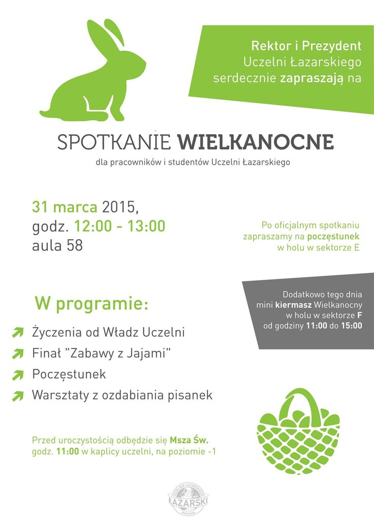 #easter #party #lazarski #spring #wielkanoc