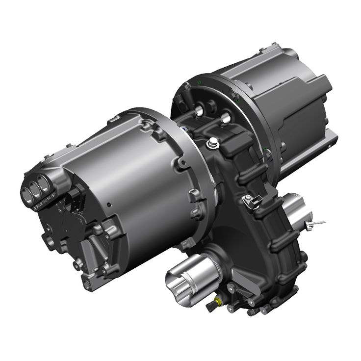 P1227 integrated lightweight electric vehicle ilev for Gearbox for electric motor
